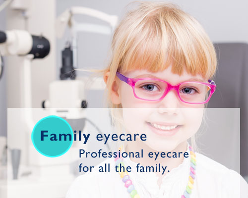 Eyecare for all the family